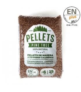 Pellet Certificado ENplus A1 TRANSNIL 15kg
